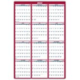 """2021 Yearly Wall Calendar - 2021 Yearly Full Wall Calendar with Thick Paper, January - December 2021, 34.3"""" x 22.8"""", XLarge,"""