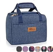 HOMESPON Insulated Lunch Bag Lunch Box Cooler Tote Box Cooler Bag Lunch Container for Women/Men/Children/School/Work/Picnic