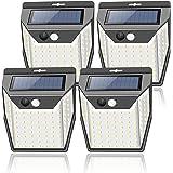 センサーライト ソーラーライト 屋外 99LED 4個セット 2021年新版 人感センサーライト 3面発光 3つ知能モード 自動点灯 防犯ライト 防水 庭 玄関 ガーデンライト 駐車場 などで活躍 地震/停電時 に適用