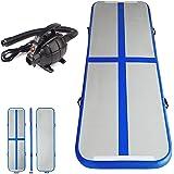 Inflatable Air Track Mat Tumbling Floor Home Gymnastics Mat + Electric Pump