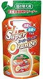スーパーオレンジ 消臭・除菌 泡タイプ 天然オレンジオイル配合 多目的クリーナー 詰替用 360ml