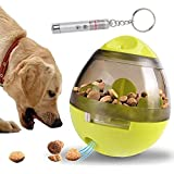 IQ Treat Ball Interactive Toys - Dog Puzzle Cat Treat Dispenser Food Bowl, Improves Digestion, Physical and Mental Stimulatio