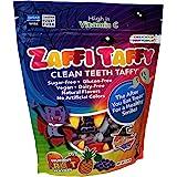 Zollipops Halloween Clean Teeth Zaffi Taffy, Natural Fruit, 10 Oz