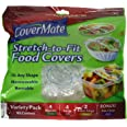 CoverMate Stretch To Fit Food Storage Covers, 2 Pack (20 Covers Total)
