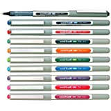Uni-Ball UB-157 Rollerball Pen 0.7mm Ball - One of Each Colour - Pack of 10