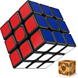 SPLAKS Speed Cube,Magic Cube,3x3x3 Puzzle Magic Cube, 56mm Smoothly Quicky Twist Adjustable Speed Cube,Eco-Friendly Durable M