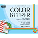 Color Keeper Dye-Trapping Laundry-Saving Sheets, 100ct Value Pack