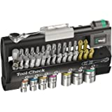 Wera Tool-Check 1 SB Tool-Check 1 SB Bit Ratchet 38 Piece with Sockets, 38 Pieces