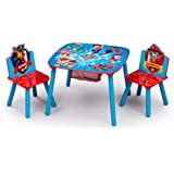 Delta Children Table and Chair Set with Storage, Nick Jr. PAW Patrol