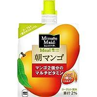 コカ・コーラ ミニッツメイド 朝マンゴ ゼリー 180mlパウチ×6個