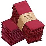 Ruvanti Dinner Cloth Napkins 12 Pack 18 X 18 Inches Reusable Fabric Napkins Soft & Comfortable, Durable Linen Napkins, Perfec