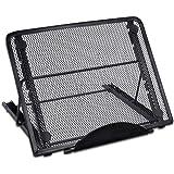 Mlife Light Pad Stand - Adjustable Light Box Laptop Stand, 6 Angles Non-Skidding Metal Holder for A4 LED Tracing Box & Diamon