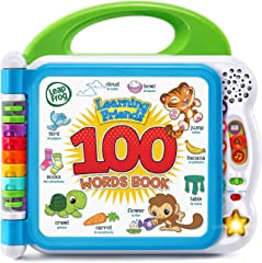 LeapFrog 80-601540 Learning Friends 100 Words Book, Green