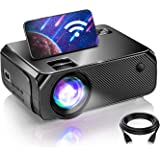 WiFi Mini Projector, Projectors for Outdoor Movies, 200 Inch Picture, Outdoor Movie Projector, Compatible with TV Stick, Vide