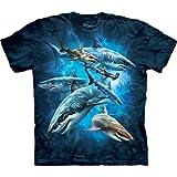 The Mountain Men's Shark Collage T-Shirt
