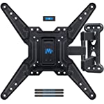 Mounting Dream Full Motion TV Wall Mounts Bracket with Perfect Center Design for 26-55 Inch LED, LCD, OLED Flat Screen TV...