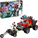 LEGO Hidden Side El Fuego's Stunt Truck 70421 Building Kit, Ghost Playset for 8+ Year Old Boys and Girls, Interactive Augment