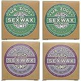 4個セットSEX WAX セックスワックス サーフワックス/サーフボードワックス サーフボード滑り止め COOL(春秋用…