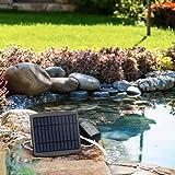 Docooler Solar Fish Tank Oxygen Pump Oxygenator Aquarium Oxygen Aerator Pond Aerator Air Pump Fishing Aerator Aquarium Airpum