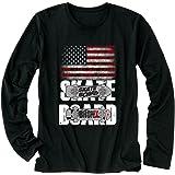 【Fox Republic】【星条旗 アメリカ スケートボード】 メンズ 長袖 Tシャツ
