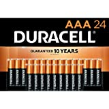 Duracell - CopperTop AAA Alkaline Batteries - Long Lasting, All-Purpose Triple A Battery for Household and Business - 24 Coun