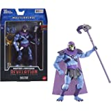 Masters of the Universe Masterverse Collection, Revelation Skeletor 7-in Motu Battle Figure for Storytelling Play and Display