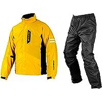 コミネ(KOMINE) バイク用 ブレスターレインウェアフィアート イエロー S RK-539 755 雨具 カッパ 防…