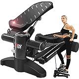 【2021最新の強化版 1年間安心保証】LNX ステッパー 有酸素 運動 フィットネス ダイエット 器具 すてっぱー ひねり運動 踏み台昇降 静音 ステップ台 健康エクササイズ器具 ステップ 運動 足踏み 3D 健康ステッパー