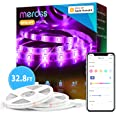 meross Led Strip Lights Works with Apple HomeKit, Smart 5050 RGB Strip, Compatible with Siri, Alexa&Google and SmartThings fo