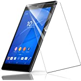 Xperia Z3 Tablet Compact ( 8インチ) SGP611/SGP612 保護フィルム ガラスフィルム ライト Phone protector【日本製素材旭硝子製】 強化ガラス 炭素繊維 耐指紋 撥油性 硬度9H 強化 ガラス 3