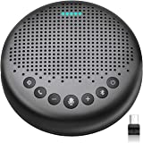 Bluetooth Speakerphone – Luna New AI Noise Redaction Algorithm Featured, Daisy Chain, USB Conference Speaker Phone w/Dongle f