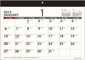 アクティブコーポレーション 2019年 カレンダー 壁掛け A4 フリーマンスズ ACL-30 (2019年 1月始まり)
