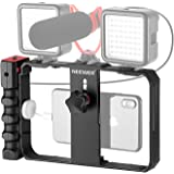 Neewer Smartphone Camera Stabilizer Video Rig, Filmmaking Case, Phone Video Stabilizer Grip Tripod Mount for Videomaker Film-