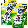 【まとめ買い】バスマジックリン 泡立ちスプレー SUPERCLEAN グリーンハーブの香り つめかえ用 330ml × 4個