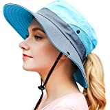 OZ SMART Wide Brim Sun Hat UPF 50 + UV Protection, Women Premium Multiple Styles Bucket Hat for Fishing, Hiking, Camping, Gar