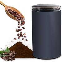 電動咖啡研磨機 咖啡研磨機 研磨機 研磨機 粉末 咖啡豆 胡須機 可水洗 磨豆/綠茶/山椒/大米/調料/谷物 一臺多用…