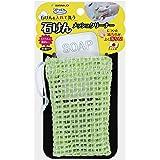 サンコー 洗濯用品 泥汚れ ブラシ 洗濯ブラシ メッシュクリーナー ネット びっくりフレッシュ グリーン 日本製 BH-50