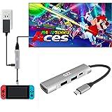 USB Type C to HDMI Digital AV Multiport Hub, USB-C (USB3.1) Adapter for Nintendo Switch, Samsung DEX Mode, MacBook Pro and Mo