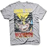 Wolverine X-Men Logan Marvel Comics Official Tee T-Shirt Mens Unisex