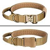 """EXCELLENT ELITE SPANKER 1.5"""" Width Dog Tactical Collars Adjustable Military Dog Collar Soft Hook & Loop Padded Dog Collar wit"""