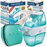 Navage Nasal Irrigation Deluxe Bundle: Naväge Nose Cleaner, 48 SaltPod Capsules, Countertop Caddy, and Travel Case. 162.75 if