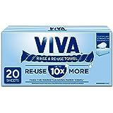VIVA Paper Towel VIVA Rinse & Re-Use Towel, 20 count