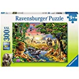 Ravensburger 13073 at The Watering Hole Puzzle 300 Pc, Children's Puzzles