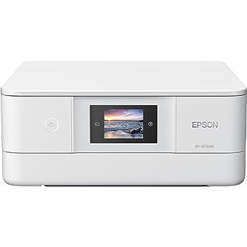 EPSON プリンター インクジェット複合機 カラリオ EP-879AW ホワイト (6色)