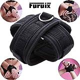 Furuix SMグッズ クロス手錠手枷 手錠 ボンテージ 束縛具 SM Dリング付き女性とカップル用の大人のおもちゃ ブラック 1~3日間以内に届けます