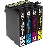 インクのチップス エプソン用 MUG-4CL 互換インク 4色セット (マグカップ互換) EW-452A EW-052A 対応