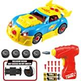 Think Gizmos Take Apart Toy Racing Car - Construction Toy Kit for Boys and Girls Aged 3 4 5 6 7 8 - Build Your Own Car Kit Ve
