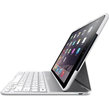 【国内正規代理品】 Belkin ベルキン QODE iPad Air2対応Ultimateキーボードケース(ホワイト) F5L178QEWHT