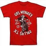 Gas Monkey Men's Monkey Moto T-Shirt
