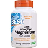 Doctor's Best High Absorption Magnesium, 120ct